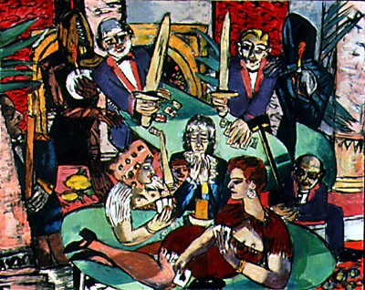 art history news max beckmann 39 s blind man 39 s buff. Black Bedroom Furniture Sets. Home Design Ideas