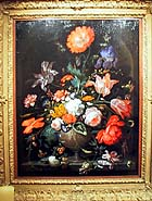 "Abraham Mignon (1640-1679), ""Still Life of Flowers in a Vase,"" ca. 1672, at Richard Green, London"