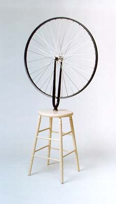 marcek duchamp readymades the bicycle wheel essay Marcel duchamp and bicycle wheel (1913)  of all duchamp's readymades,  fountain is the best known perhaps because its symbolic  of) duchamp or  louise norton, who contributed an essay to (the art and dada journal).
