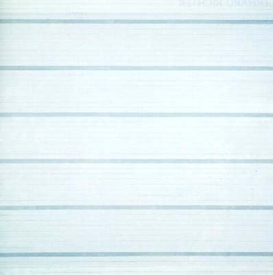 Agnes Martin: 'Untitled #22'; 1988; acrylic on canvas with graphite; 72 x 72 in.