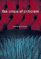 The Crisis of Criticism