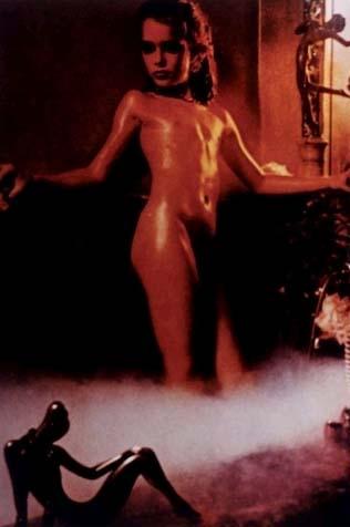 Brooke Shields Gary Gross Photo Shoot Damien hirst