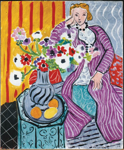 Henri Matisse, Purple Robe and Anemones, 1937