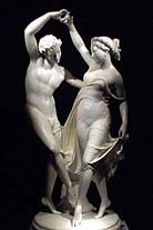 "Giovanni Maria Benzoni, ""Flora and Zephyr,"" 19th century, at Robert Bowman, London"