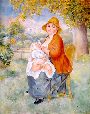 Maternity by Renoir