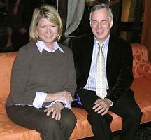 Martha Stewart And Furniture Designer Dennis Miller At The Ritz Carlton In  Miami Beach
