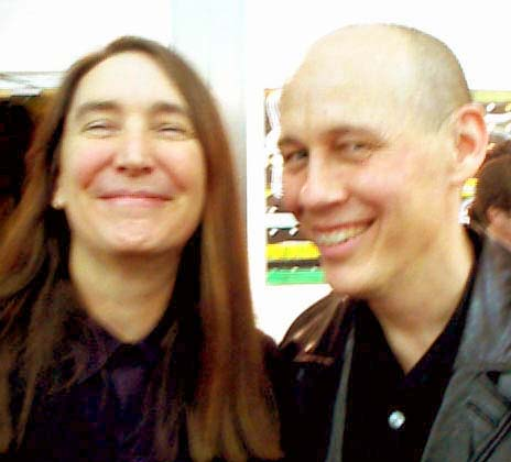 Married artists Jenny Holzer and <b>Mike Glier</b> - mendelsohn2-25-12