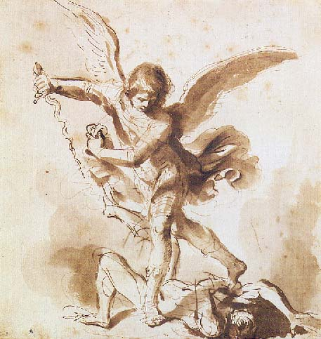 St Michael The Archangel Drawings