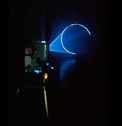 Anthony McCall's Line Describing A Circle, image: artnet.com