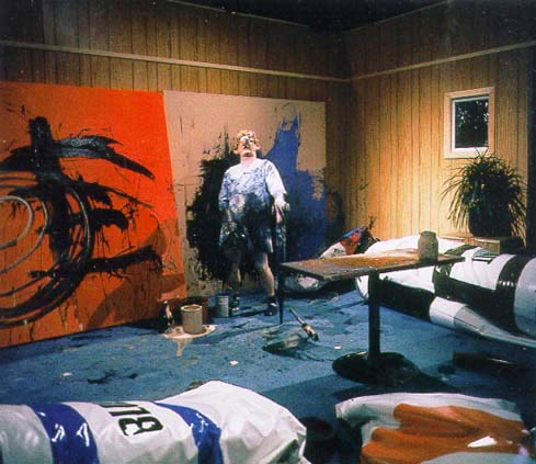 Biennale blues for Paul s garden studios