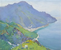 the promontory (view of bay from above) by margaret jordan patterson