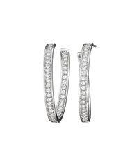 hoop earrings (pair) by cartier