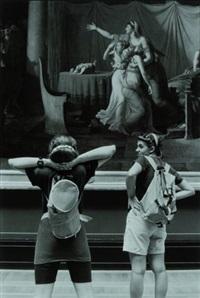 musée du louvre-jacques louis david, les licteurs rapportent à brutus les corps de ses fils, 1789 by alécio de andrade
