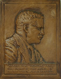 portrait of theodore roosevelt by james earle fraser