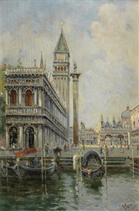 piazza san marco, venice by antonio maría de reyna manescau