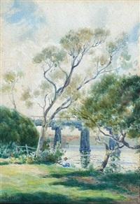bridge on the swan by james walter robert linton