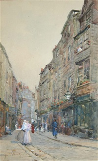 cloth alley, smithfield by rose maynard barton