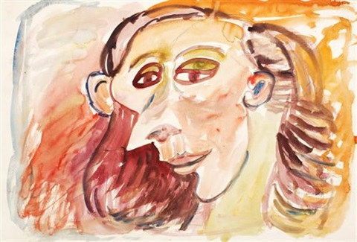 td 1338 woman with a sharp nose by john anthony tony tuckson
