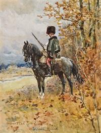 huzar gwardii cesarskiej by woiciech (aldabert) ritter von kossak