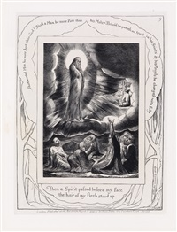 then a spirit passed before my face by william blake