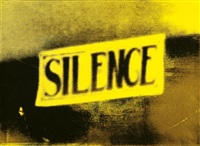 yellow silence (the electric chair) by christian marclay