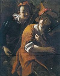 zwei musikanten (due musicanti) by salomone adler