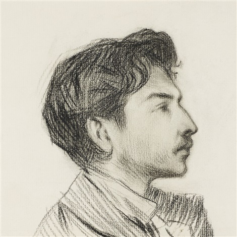 portrait of hortensio güell by pablo picasso