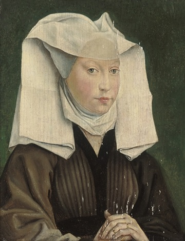 portrait of a young woman by roger van der weyden