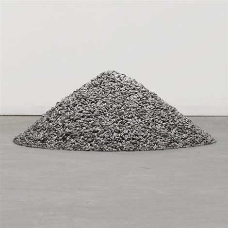 kui hua zi sunflower seeds by ai weiwei
