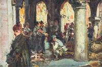 mercatino sotto i portici by romolo leone