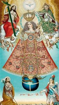la vierge du rosaire by bolivian school (19)