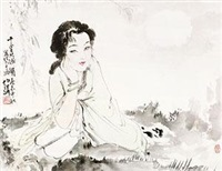 千里共婵娟 by bai bohua