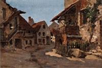 un rue de beure by leon germain pelouse
