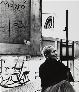 joan miró by bill brandt