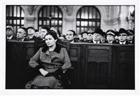 simone veil lors du 30e anniversaire de la libération d'auschwitz, à la synagogue de la victoire. by alécio de andrade