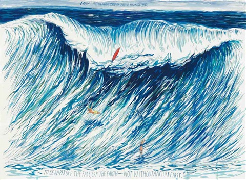 no title from life to by raymond pettibon