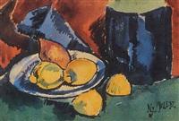 csendélet citromokkal by józsef nemes-lampérth