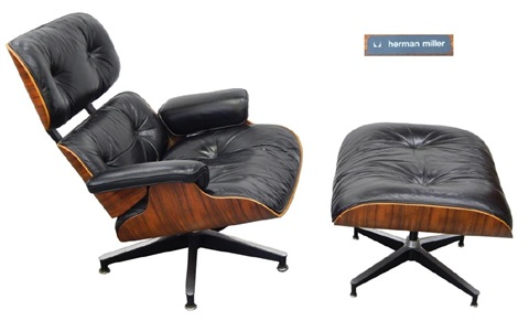 Wondrous Original Eames Lounge Chair For Herman Miller By Charles And Dailytribune Chair Design For Home Dailytribuneorg