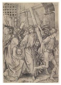 die kreuztragung christi by martin schongauer