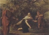 religious scene by pieter lastman