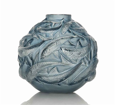 oleron vase no 1008 by rené lalique