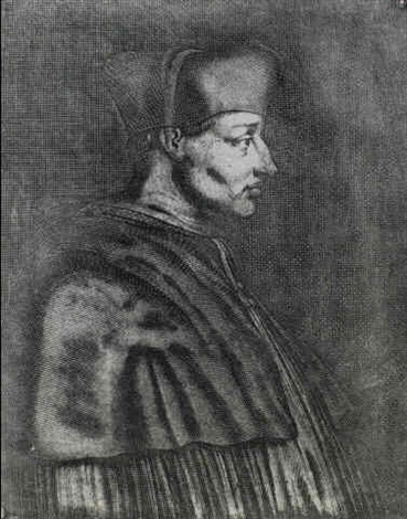 cardinal d'amboise by joseph-nicephore niepce