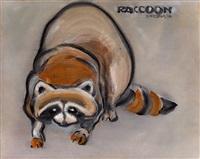 浣熊 (raccoon) by liu chiwei