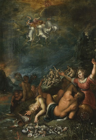 der sturz des phaeton by jacob de backer