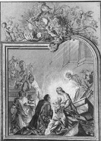 l'adoration des rois mages by claudine bouzonnet stella