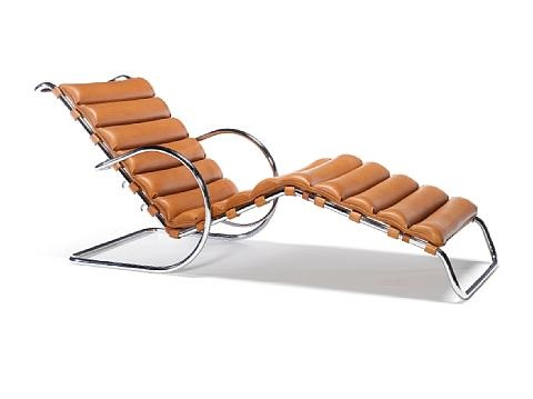Mr Adjustable Chaise Lounge By Ludwig Mies Van Der Rohe