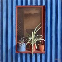 ventana sobre zinc azul by carlos corotto