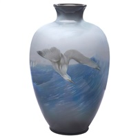 exceptional rookwood vase by carl schmidt
