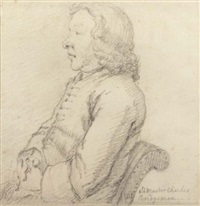 portrait of charles bridgeman seated by sir james thornhill