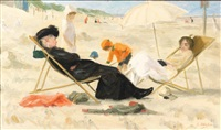 repos à la plage by sonia abeloos